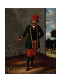 Man from the Island of Tinos Giclée-Premiumdruck von Jean Baptiste Vanmour