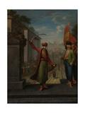Patrona Halil Prints by Jean Baptiste Vanmour