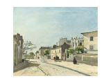 Rue Notre-Dame, Paris Print by Johan Barthold Jongkind