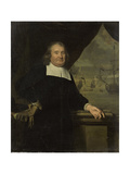 Portrait of a Captain or Ship-Owner Posters by Michiel Van Musscher