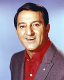 Danny Thomas smiling in Brown Coat Photo by  Movie Star News