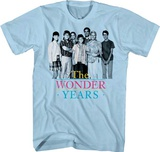 The Wonder Years- Close Cast T-shirts