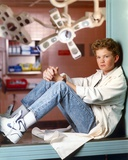 Doogie Howser Poed in Doctor Outfit and Blue Jeans Photo by  Movie Star News