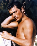 Alain Delon Posed Topless Photo by  Movie Star News