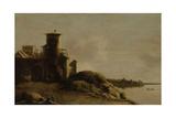 Landscape Print by Claude de Jongh