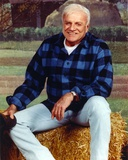 Brian Keith Pose in Checkered Polo Photo by  Movie Star News