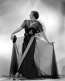 Irene Castle wearing an Embroidered Gown Photo by  Movie Star News