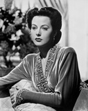 Hedy Lamarr wearing a Silk Wardrobe Photo by  Movie Star News