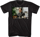 The Office- A Little Stitious T-shirts