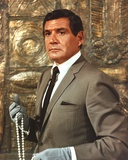 Gene Barry in Suit Photo by  Movie Star News