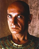 Ben Kingsley Close Up Portrait Looking Serious and Bald in Gold Egyptian Outfit Photo by  Movie Star News