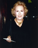Doris Roberts in Black Gown Portrait Photo by  Movie Star News