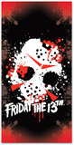 Friday the 13th - Jason Mask Beach Towel Beach Towel