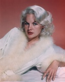 Carroll Baker Posed in a Furry Wardrobe Photo by  Movie Star News