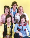 Bay City Rollers Group Picture in Yellow Background Photo by  Movie Star News
