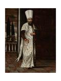 Chaous Bachi Kunstdrucke von Jean Baptiste Vanmour