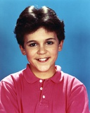 Fred Savage in Red Polo Shirt Portrait Photo by  Movie Star News