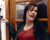 Irene Jacob Looking Frightened Photo by  Movie Star News