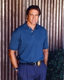 Barry Van Dyke Posed in Blue Polo Shirt and Jeans Photo by  Movie Star News