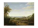 Brazilian Landscape by the River Senhor De Engenho Posters by Frans Jansz Post