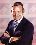 David Janssen smiling in Formal Suit Portrait Photo by  Movie Star News
