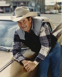 Barry Corbin Seated in Plaid Polo Photo by  Movie Star News