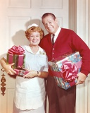 Hazel Pose with Christmas Presents Photo by  Movie Star News