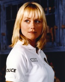Darlene Vogel Portrait in White Polo Shirt Photo by  Movie Star News