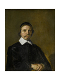 Portrait of a Man, Possibly a Preacher, Frans Hals. Posters by Frans Hals