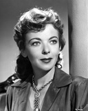 Ida Lupino wearing a Necklace and a Silk Blouse Photo by  Movie Star News