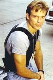 Michael Biehn Posed in Gray Shirt Portrait Photo by  Movie Star News