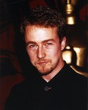 Edward Norton Portrait in Black Polo Photo by  Movie Star News