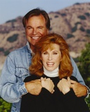Hart To Hart Man in Denim Jacket and Woman in Turtle Neck Blouse Photo by  Movie Star News
