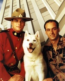 Due South in Ranger Uniform Group Portrait with Dog Photo by  Movie Star News