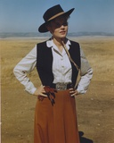 Carroll Baker Posed in Cowboy Outfit Photo by  Movie Star News