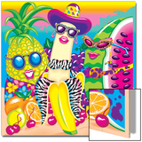 Tropical Fruit '91 Poster by Lisa Frank
