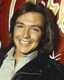 David Cassidy Portrait in Black Coat Photo by  Movie Star News