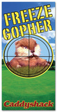 Caddyshack - Gopher Beach Towel Beach Towel