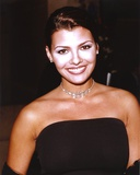 Ali Landry in Black Gown with Silver Necklace Photo by  Movie Star News