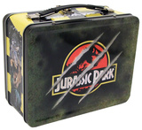 Jurassic Park Tin Tote Lunch Box
