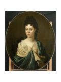Portrait of Mrs. Brust-Batailhy Posters by Pieter van der Werff