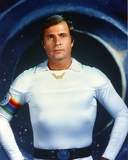 Gil Gerard in a Fitted White Long Sleeve Photo by  Movie Star News