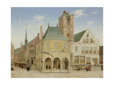Old Town Hall of Amsterdam Prints by Pieter Jansz Saenredam