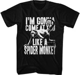 Talladega Knights- Like A Spider Monkey T-shirts