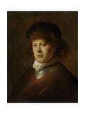 Portrait of Rembrandt Harmensz Van Rijn, Jan Lievens. Print by Jan Lievens