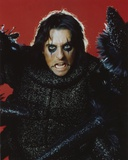 Alice Cooper Portrait in Red Background Photo by  Movie Star News