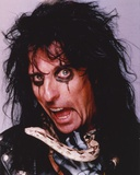 Alice Cooper Making a Wacky Face in a Close up Portrait Photo by  Movie Star News