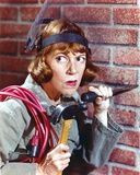 Imogene Coca Posed in Brick Background Photo by  Movie Star News