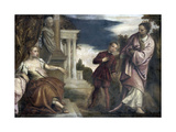 Choice Between Virtue and Passion Kunstdrucke von Paolo Veronese