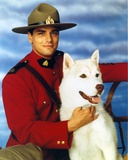 Due South in Ranger Uniform with Dog Portrait Photo by  Movie Star News